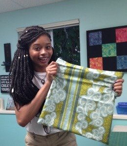 Teens and kids learn to sew. Summer Sewing Camps start soon!