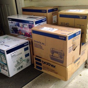 Brother Sewing machines have arrived.