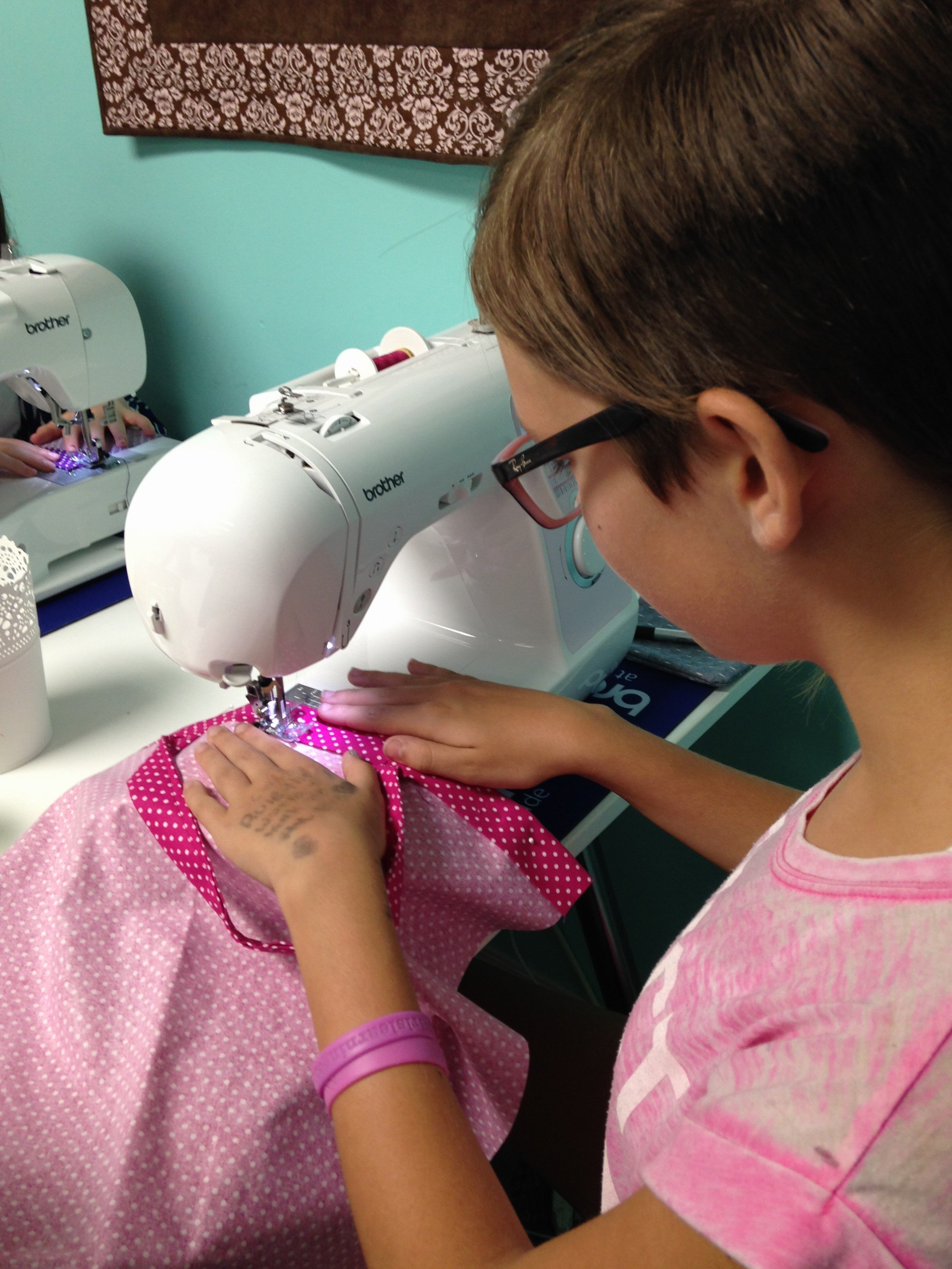 Sewing on Fabric