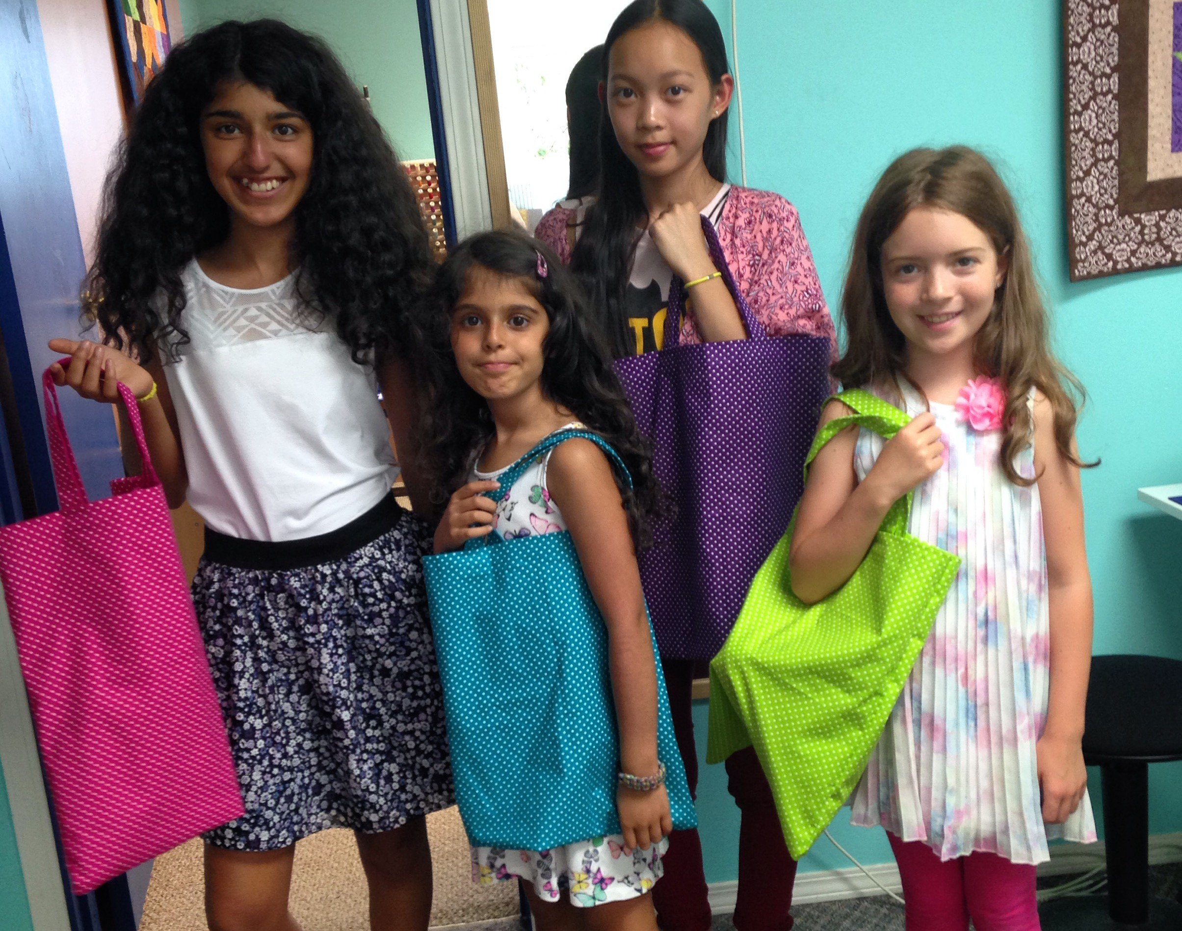 Kids Summer Sewing Camp
